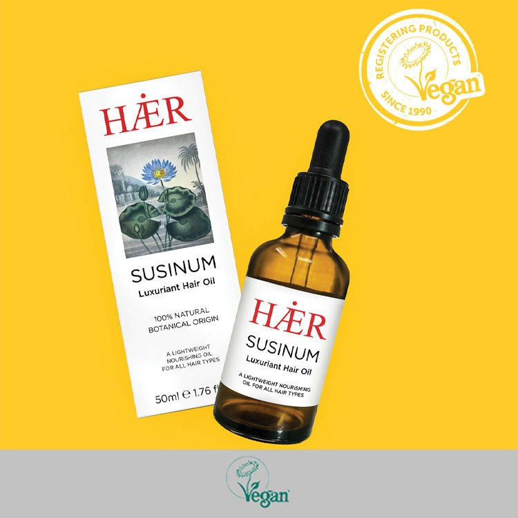 HAER is registered with The Vegan Society